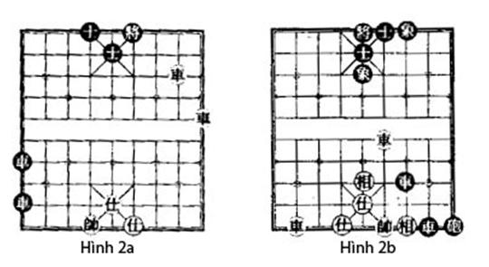 Xe lệch trong game cờ tướng