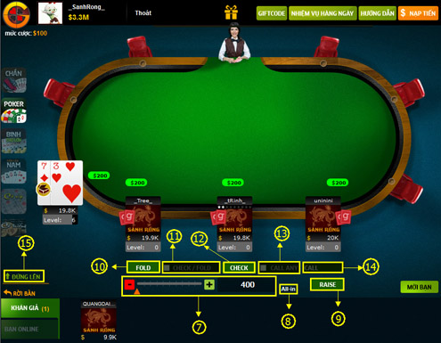 Hướng dẫn chơi Poker - Cách chơi bài Poker