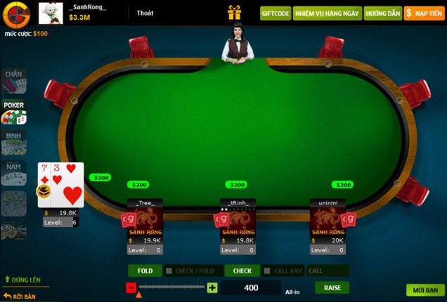 Hướng dẫn chơi Poker - Trang giới thiệu