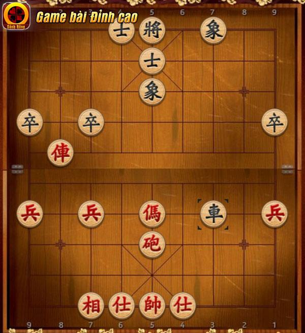 Giai đoạn Trung Cuộc là thời điểm để game thủ thỏa sức phô bày kỹ thuật chơi Cờ Tướng của mình