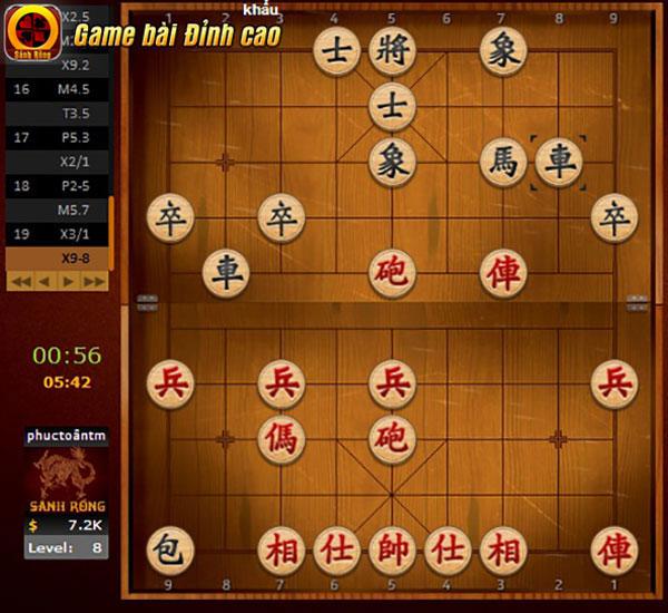 Trong game Cờ Tướng, việc chọn đúng thời cơ ra tay trước sẽ mang lại cho game thủ nhiều lợi thế