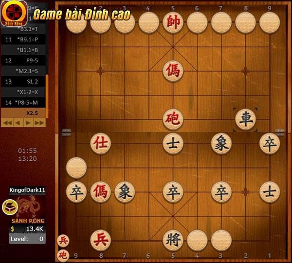 Chiến thuật Tấn Công cơ bản trong game Cờ Úp là dùng những quân mạnh đã mở để công kích quân chưa mở của đối thủ