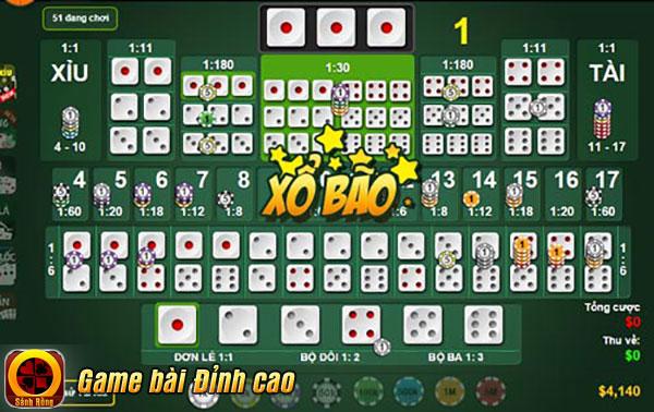 """Trong game Tài Xỉu, chọn lựa lối chơi cược Bão thông minh kết hợp với xíu may mắn sẽ biến giấc mơ """"triệu phú"""" của người chơi trở nên gần hơn"""
