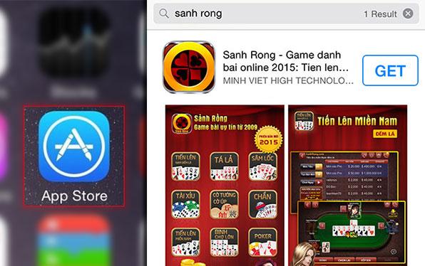 Tải game đánh bài iOS
