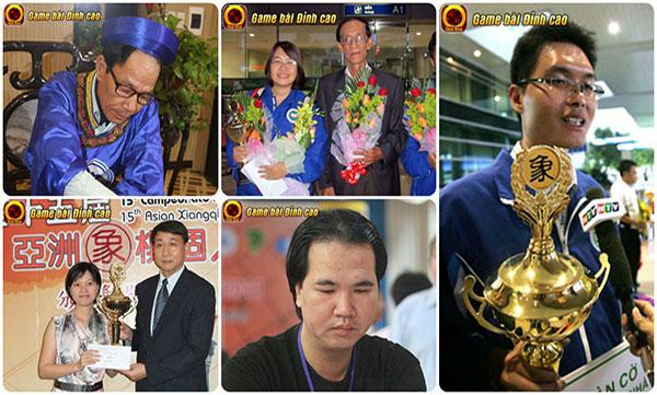 Điểm mặt top 05 kỳ thủ xuất sắc nhất làng game Cờ Tướng Việt Nam