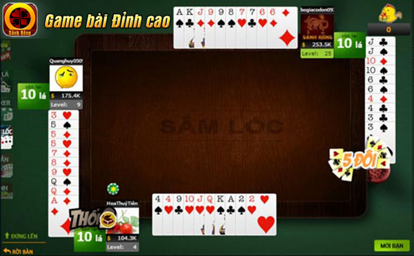 Game Sâm Lốc cũng là một trò chơi rất dễ tiếp cận đối với người chơi nữ