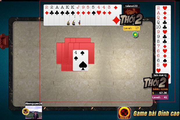 www.123raovat.com: soi những cách chơi trong game tiến lên miền nam