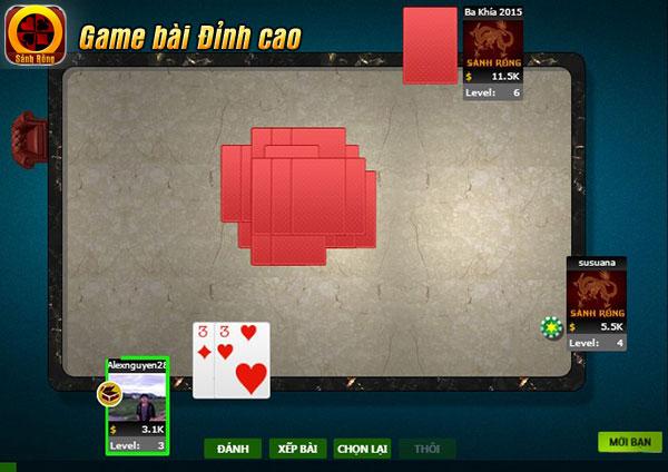 www.123nhanh.com: Lối chơi dễ gây ức chế trong game tiến lên miền nam