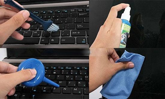 Cách tự vệ sinh laptop, máy tính tại nhà