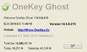 Cách ghost win 7 và download OneKey Ghost mới nhất