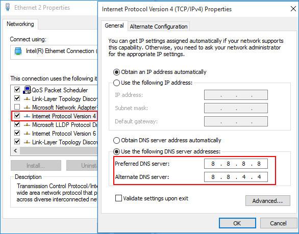 Hướng dẫn cách đổi DNS sang Google DNS