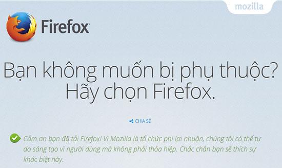 Tải Firefox mới nhất 2015 và hướng dẫn cài đặt