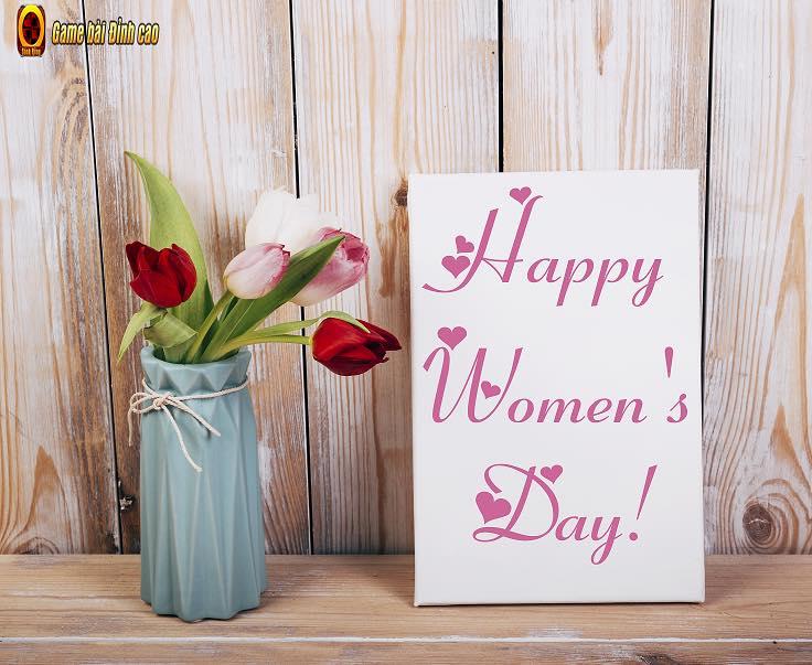 🌹  Happy Women's Day!  🌹  Chúc mừng ngày quốc tế phụ nữ 8/3!