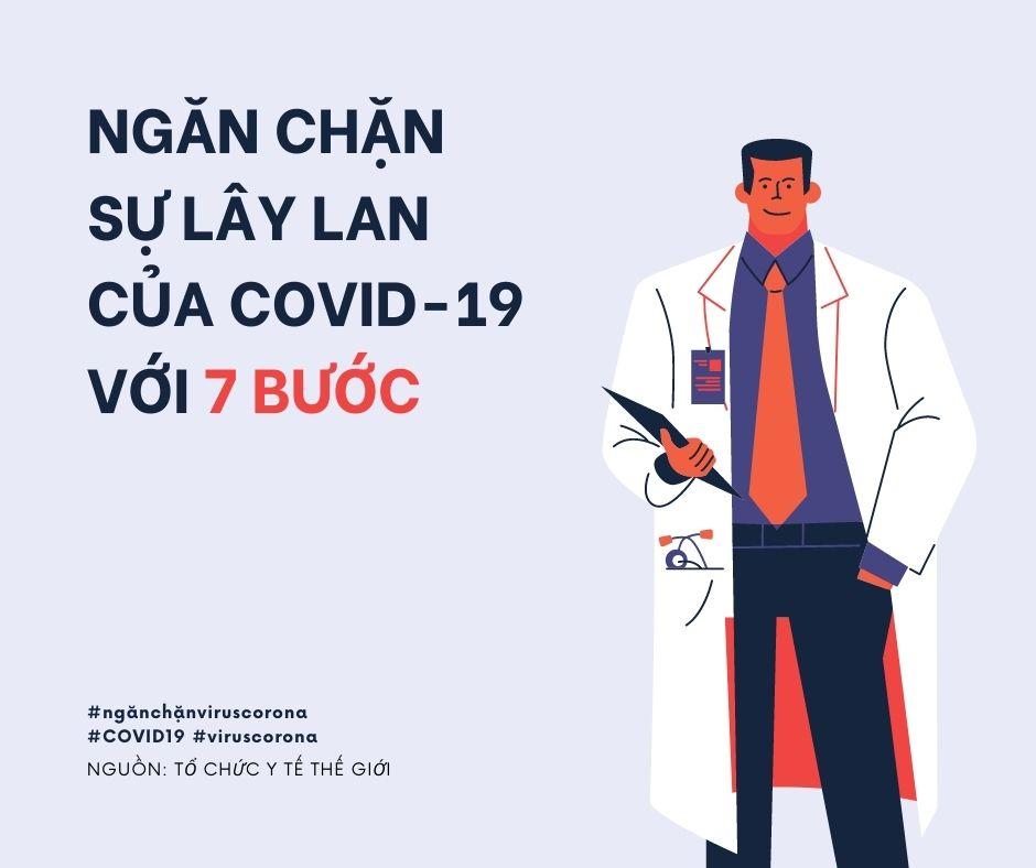 Những điều cần làm để phòng chống dịch bệnh COVID-19
