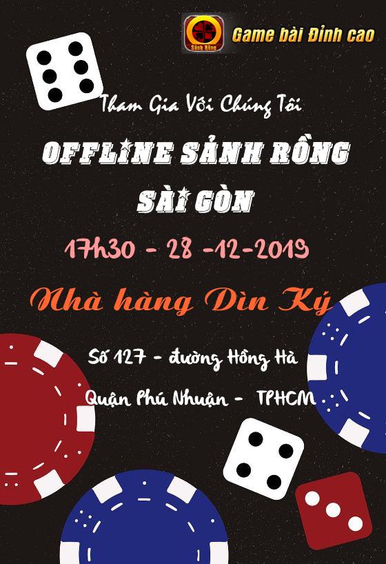 Trước giờ G, SẢNH RỒNG Công Bố Danh Sách Game Thủ Offline tại Tp. Hồ Chí Minh