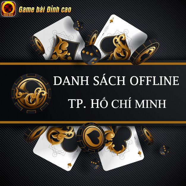 SẢNH RỒNG Công Bố Danh Sách Game Thủ Tham Gia Big Offline tại Tp. Hồ Chí Minh